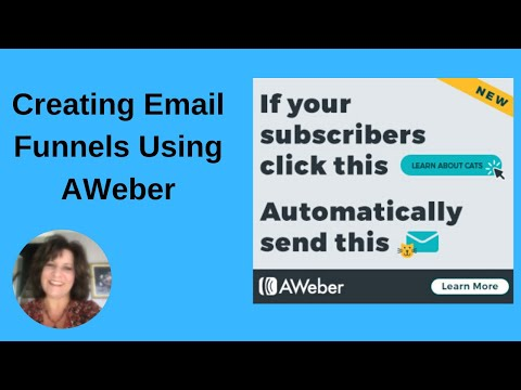 How to Build an Email Sales Funnel in AWeber