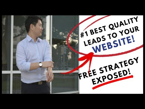 How To Get The BEST TRAFFIC To Your SALES FUNNEL in 2018 (FREE STRATEGY!)