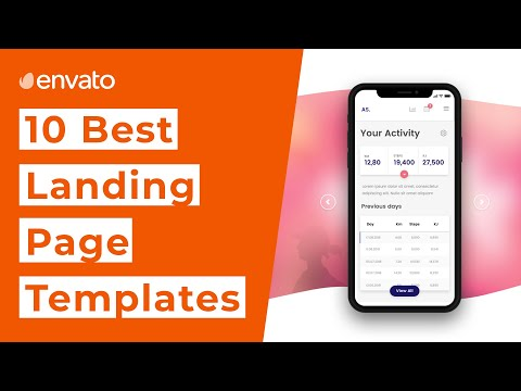 10 Best Landing Page Templates [2020]