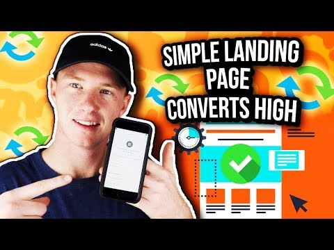 How to Make a  High Converting Landing Page for Affiliate Marketing (IN UNDER 10 MINS)