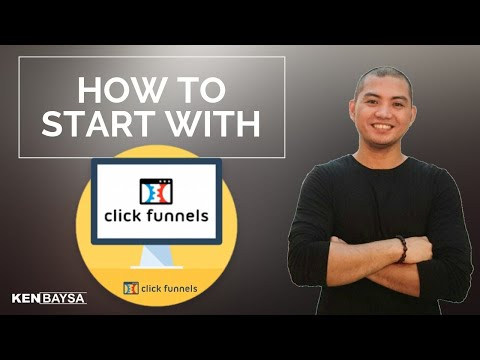How To Start in Click Funnels – Tagalog Tutorial