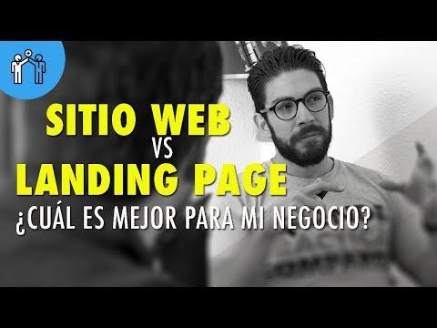 Landing Page vs Sitio web ¿Cuál es mejor para mi negocio?