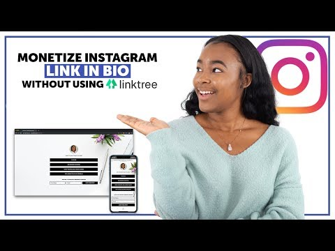 Create LinkTree Instagram Landing Page Alternative Tutorial