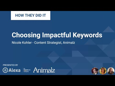 Choosing Impactful Keywords for Your Content Marketing Funnel