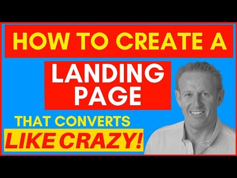 🔥How To Create A Landing Page (That Converts Like Crazy!)🔥