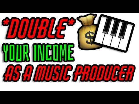 Double Your Income As A Music Producer – New Income Stream For Music Producers