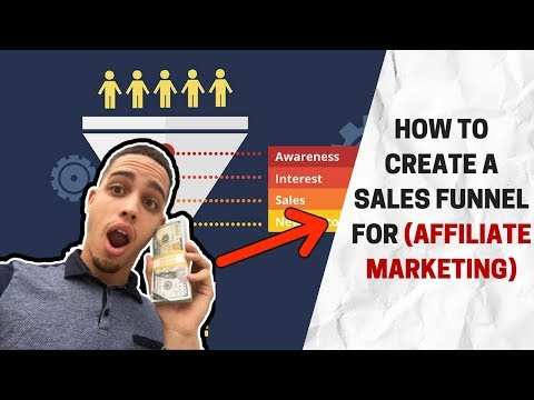 How to Create A Sales Funnel For Affiliate Marketing Products FAST and EASY