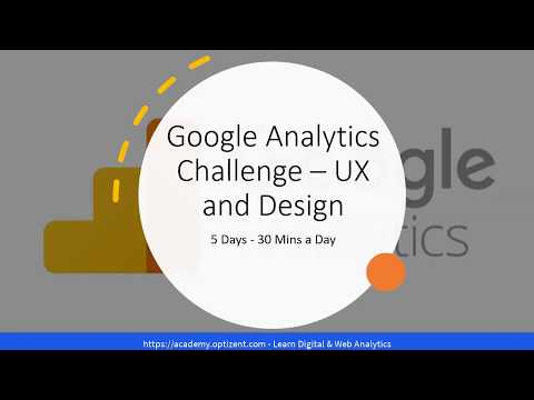 Google Analytics For Landing Page – UX and Design Team – 5 Day Challenge