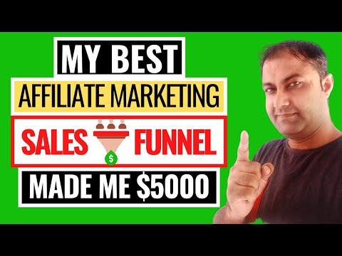 My Best Affiliate Marketing Funnel – (Exact Affiliate Marketing Sales Funnel Made Me Over $5000 )