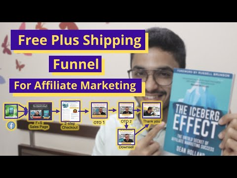 Funnel Hacking Free Plus Shipping Funnel for Affiliate Marketing | The Iceberg Effect | Unboxing