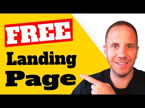 CLICKFUNNELS ALTERNATIVE | How to Create a Free Landing Page in WordPress