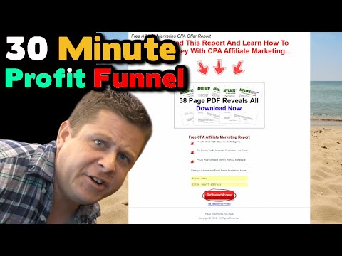 How To Make A DIY Sales Funnel With WordPress In 30 Minutes – FULL Tutorial.