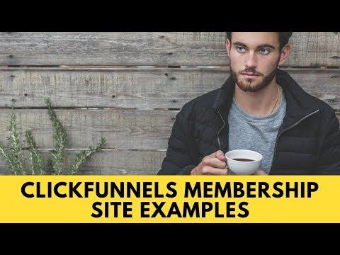 ClickFunnels Membership Site Examples
