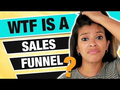 WTF Is A Sales Funnel? Sales Funnels Explained For Beginners | Marissa Romero
