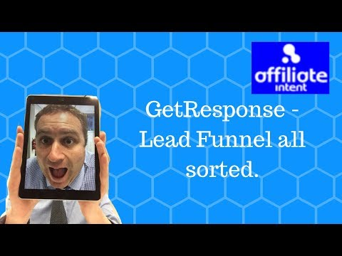 Building a Lead Funnel with GetResponse | Affiliate Marketing Funnel