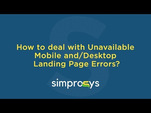 How to Fix Unavailable Mobile and Desktop Landing Page Error of Google Merchant Center?