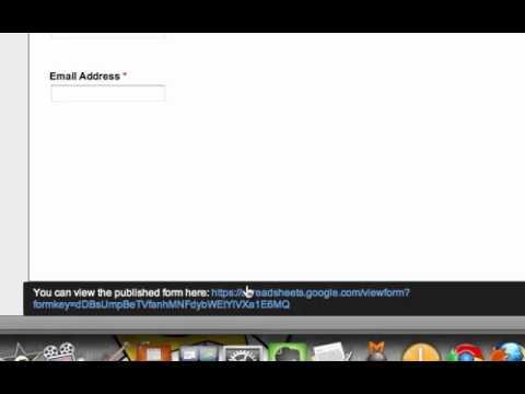 Creating Landing Pages using Google Forms   Video 6 (bonus)
