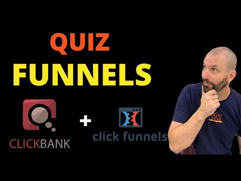 How To Create A High Converting CLICKBANK Affiliate Quiz Funnel   Clickfunnels Tutorial