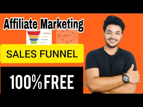 How To Build Affiliate Marketing Funnel For FREE In Less Than 20 Minutes | Rs '0 ' Funnel Tutorial