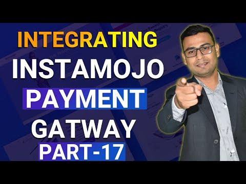 #17 Integrating Instamojo Payment Gateway   Landing Page Tutorial