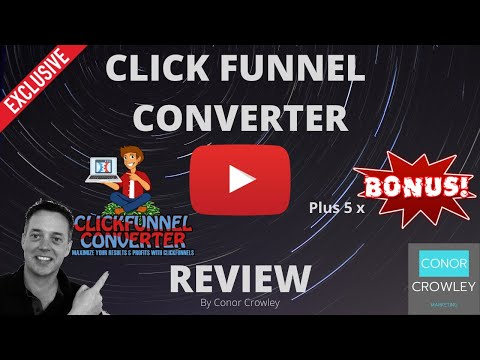 """ClickFunnel Converter  🛑 STOP 🛑 DON'T GET """"CLICKFUNNEL CONVERTER"""" without my 🏆 EXTRA BONUSES 🏆"""