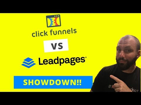 Clickfunnels Vs Leadpages | Landing Page Software Showdown!!