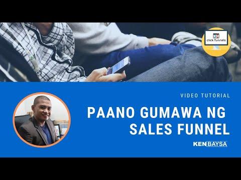 Paano Gumawa ng Sales Funnel sa ClickFunnels