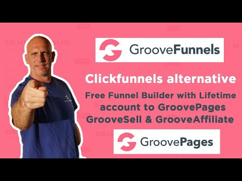 Clickfunnels alternative Free Funnel Builder with Lifetime account to GroovePages