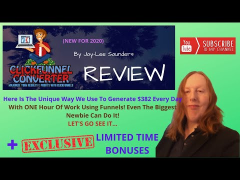 Clickfunnel Converter Review ⚡ ATTENTION ⚡ GET MY 🎀EXCLUSIVE🎀 BONUSES 👉 [Training For Clickfunnels]