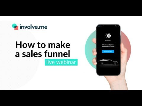 How To Make A Sales Funnel With involve.me