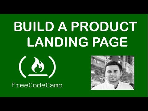 Build a Product Landing Page (freecodecamp.org)