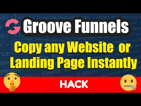 How to Copy and Paste Any Website or Landing Page Instantly   Groovefunnels Hack