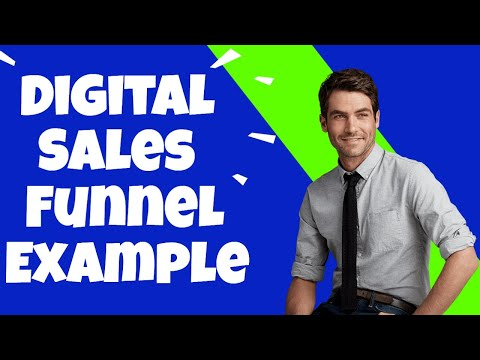 Digital Sales Funnel Example – Sales Funnels For Beginners | How To Create A Simple Sales Funnel