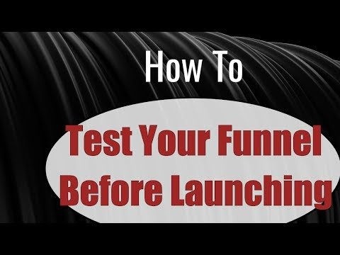 How to Test your ClickFunnels before spending money on traffic – ClickFunnels Tutorial
