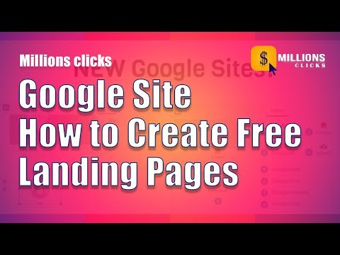 Landing pages | How to create a FREE  leads funnel using only Google Sites!| 100% Free | in Hindi