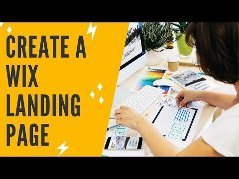 WIX LANDING PAGE TUTORIAL 2020: How To Build A FREE High Converting Landing Page In Wix