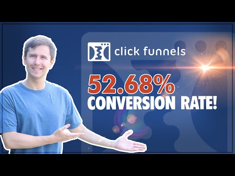 ClickFunnels: How to Create a 52.68% Conversion Rate Landing Page (2020!)