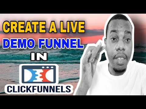 How To Create A Live Demo Funnel On Clickfunnels   Clickfunnels Tutorial