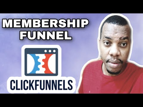 How To Create Membership Funnel  In Clickfunnels | Create A Membership Site | Clickfunnels Tutorial