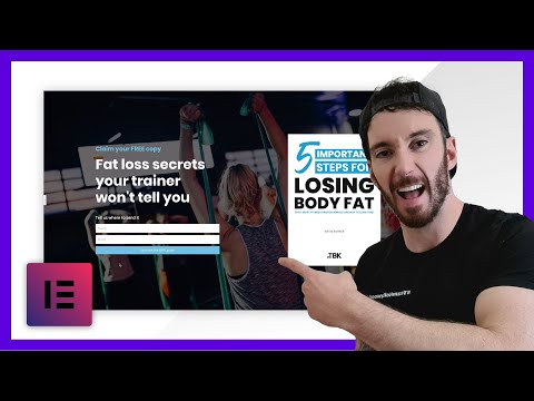 How To create an email opt in landing page | Lead Magnet Landing Page (Step by Step Tutorial 2020)