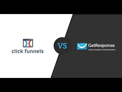 Clickfunnels vs GetResponse – Best E-Mail Affiliate Marketing Sales Tool Comparison