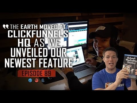 The Earth Moved At Clickfunnels HQ As we Unveiled Our Newest Feature FHTV Ep 89