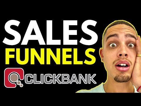 CLICKBANK: How To Create A Sales Funnel For CLICKBANK Affiliate Marketing PRODUCTS on Clickbank!