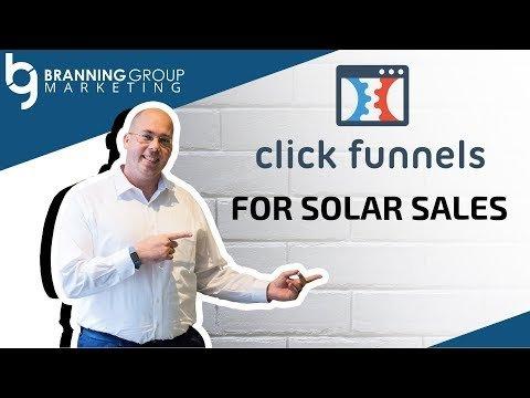 ClickFunnels For Solar Sales