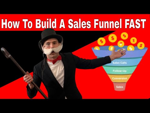 how to build a sales funnel for lead generation, Step by Step, Completely From Scratch