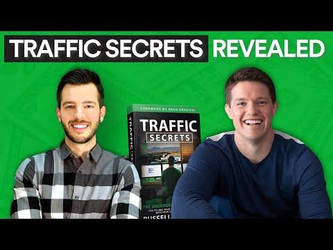 """Adrian & Russell Brunson of ClickFunnels.com Reveal """"Traffic Secrets"""""""