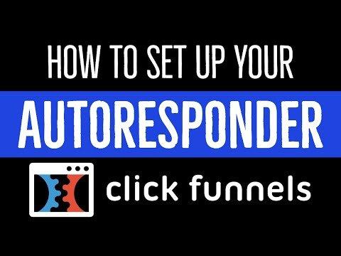 ClickFunnels Tutorial: How To Setup Your Autoresponder Integration In ClickFunnels