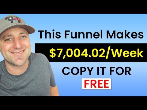 Clone My High Ticket Affiliate Marketing Funnel