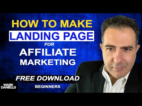 How To Make A Landing Page For Affiliate Marketing [Affiliate Marketing For Beginners]