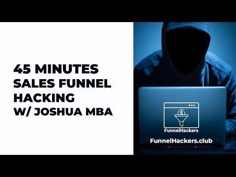 DEMYSTIFYING & LIVE IMPLEMENTATION OF SALES FUNNEL WITH JOSHUA MBA